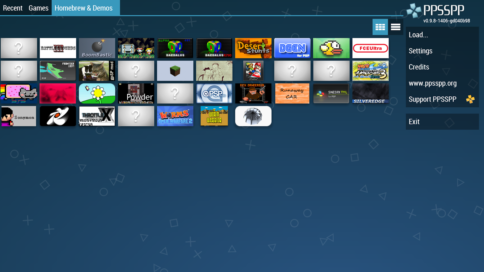 PPSSPP Gold - PSP emulator Screenshot 3