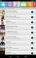 Screenshot of Top Songs, Music & Videos