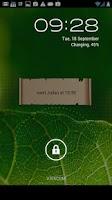Screenshot of Lock Screen Reminder