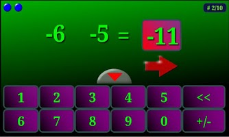 Screenshot of Zintegers