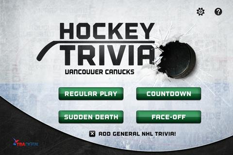 Hockey Trivia-Canucks