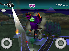 Screenshot of Robocat Rampage
