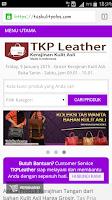 Screenshot of TKPLeather - Kerajinan Kulit.