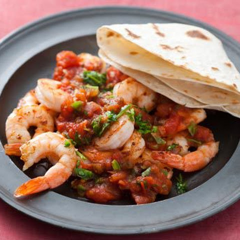 Shrimp with a Mexican Tomato Sauce