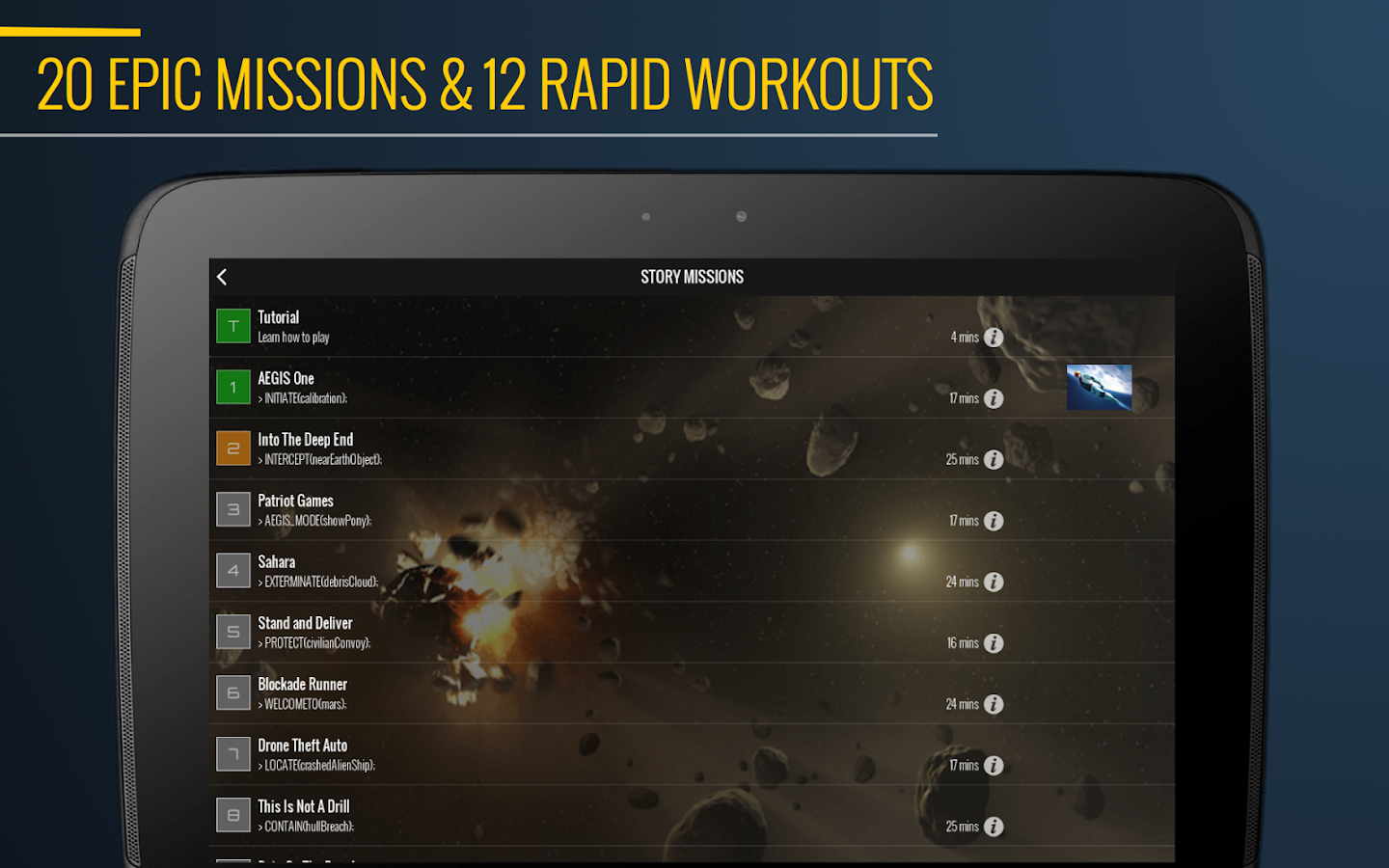7 Minute Superhero Workout Screenshot 7
