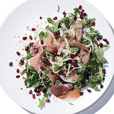 Mediterranean Salad with Prosciutto and Pomegranate