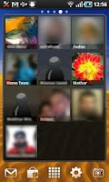 Screenshot of Photo Contacts Widget
