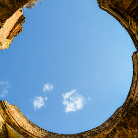 monuexconve by Alighieri Rizo - Buildings & Architecture Statues & Monuments ( arquitectura, monumento, pilares bellos, mexico, ladrillo, exconvento )