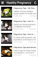 Screenshot of Healthy Pregnancy Tips.
