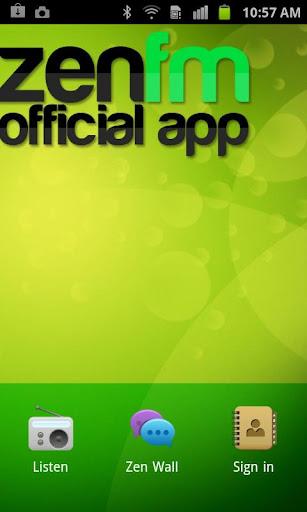 The official ZenFM mobile app