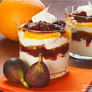 Port Wine, Fig and Mascarpone Parfaits