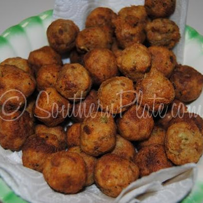 Southern Fried Stuffing Balls