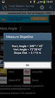 Screenshot of Total Station Survey