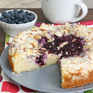 Low Fat Blueberry Cream Cheese Coffee Cake Recipes