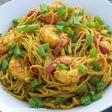 Shrimp & Singapore Noodles