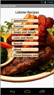 Flavorful Lobster Recipes - screenshot