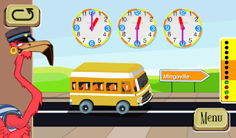 Screenshot of Learn to tell time - Fun Clock