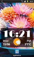 Screenshot of Click Clock Widget