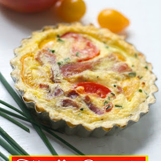 Tomato Bacon Cheddar Quiche Recipes