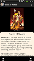 Screenshot of Witches Tarot