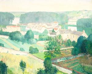 RIJKS: Gerrit van Blaaderen: painting 1914