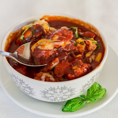 Crockpot Country Sausage and Bean Soup