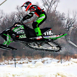 Snocross Racing by Jon Radtke - Sports & Fitness Other Sports ( snocross racing )