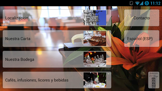 Restaurante El Pasaje - screenshot