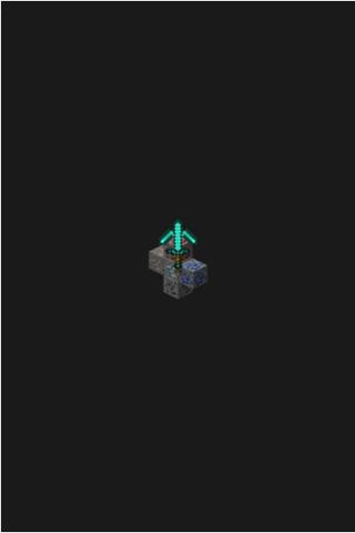 Diamond Clock - Minecraft