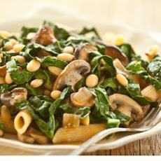 Greens, Mushroom and White Bean Ragoût