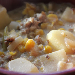 Corn Chowder With Potatoes And Sausage Recipes
