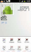 Screenshot of Stamp Theme Go Launcher Ex