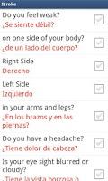 Screenshot of Medical Spanish - AUDIO