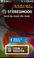 Screenshot of Stereomood