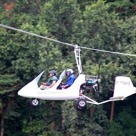 Herzobase Germany - Helicopter roming by Yogesh Holmukhe - Transportation Airplanes (  )