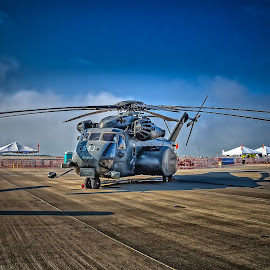 Parked by Ron Meyers - Transportation Helicopters