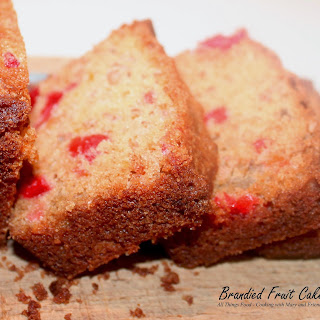Brandied Peach Fruit Cake Recipes