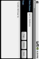 Screenshot of MyNotes