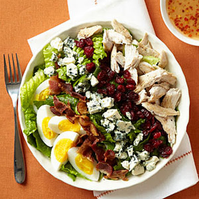 Cobb Salad with Cranberries