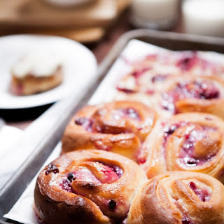 Cherry Cheesecake Cinnamon Rolls