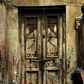 Old Egyptian Door by Hossam Halawany - Buildings & Architecture Homes ( old, door, classic, egypt )