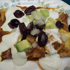 Mixed up Enchiladas