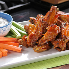 Bobby's Buffalo Wings with Tangy Cheese Dip