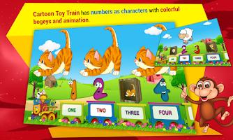 Screenshot of Kids Learn Numbers Train Free