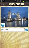 Screenshot of City Quiz - Guess this city!