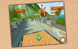 Screenshot of Ancient Golf