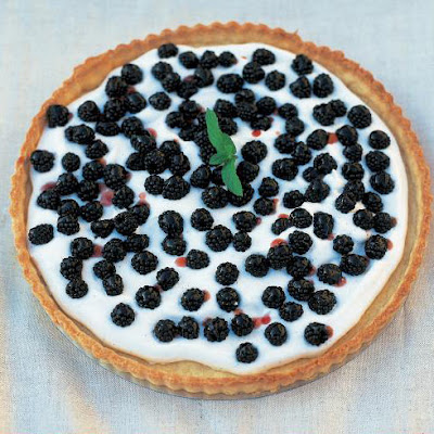Blackberry tart (Torta di more)