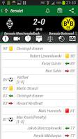 Screenshot of Borussia Mönchengladbach App