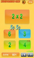 Screenshot of Multiplication Genius