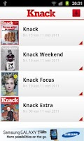 Screenshot of Knack Smartphone